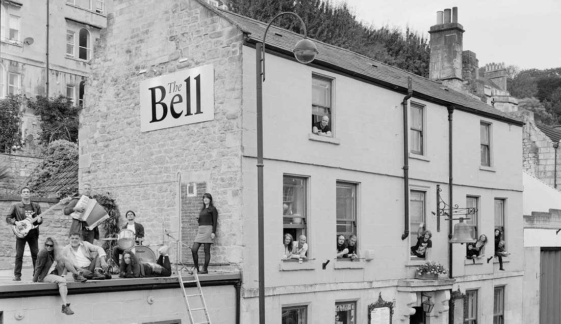 The Bell Inn bath